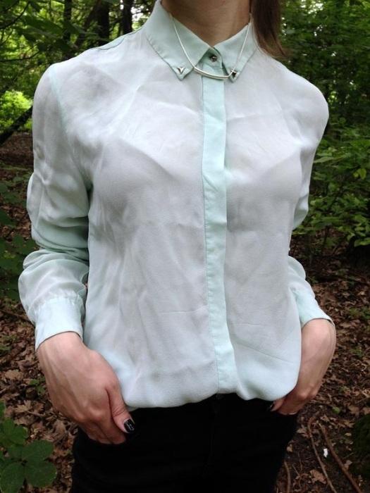 Мятая рубашка явно не добавляет стиля и изящества. / Фото: shafa.ua