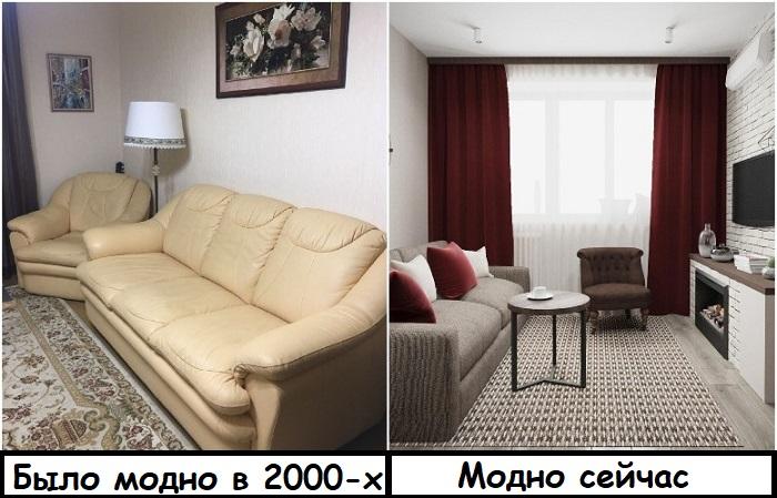 Комплекты мебели давно вышли из моды