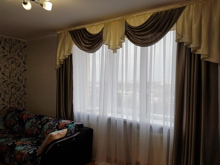 Многослойные шторы смотрятся устарело. / Фото: csgo-starshop.ru