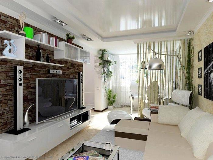 Когда в гостиной много мебели, пространство выглядит загроможденным, а не стильным. / Фото: walldeco.ua