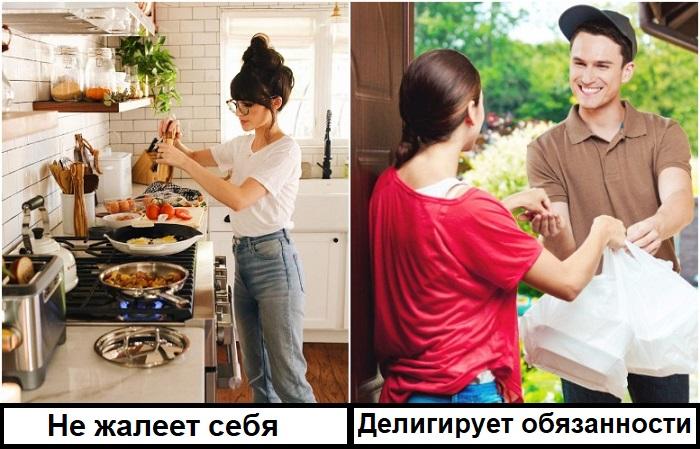 Если можете себе позволить, заказывайте еду на дом, а не проводите на кухне все свободное время