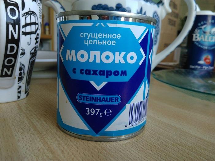Сгущенное молоко хранится 12 месяцев. / Фото: drive2.ru