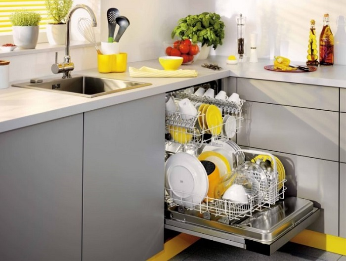 Плесень появляется в посудомоечной машине из-за горячей воды и пара. / Фото: elektriki23.ru