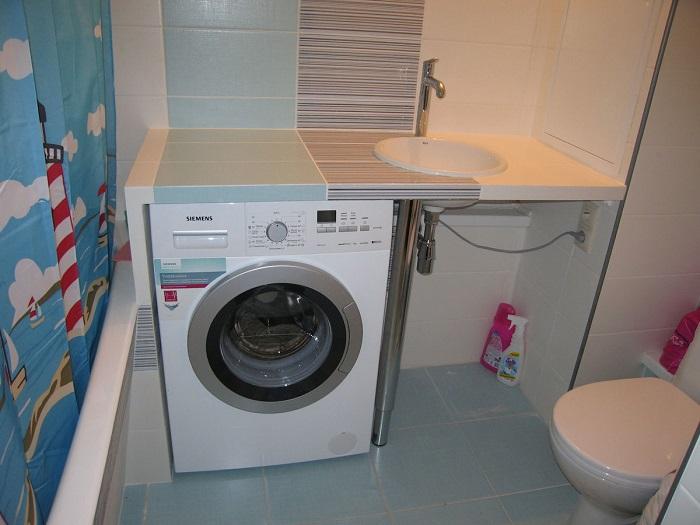 Если держать стиральную машину закрытой, барабан не сможет высохнуть. / Фото: expert.agromat.ua