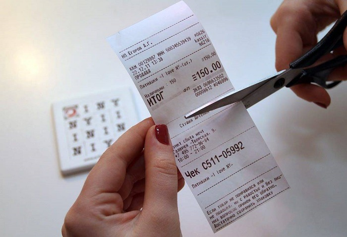 Мошенники могу воспользоваться вашим чеком, чтобы украсть товар в магазине. / Фото:fbm.ru