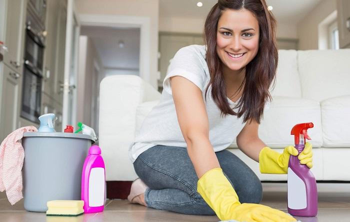 В малогабаритной квартире уборка занимает минимум времени. / Фото: flatcleaning.ru