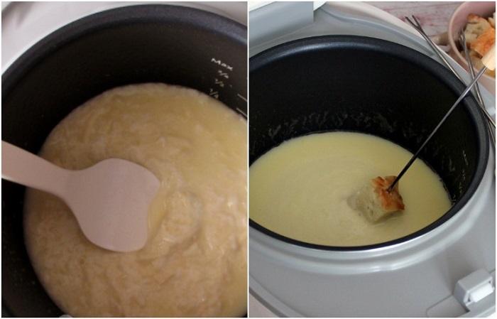 Сыр, растопленный в мультиварке, будет нужной консистенции