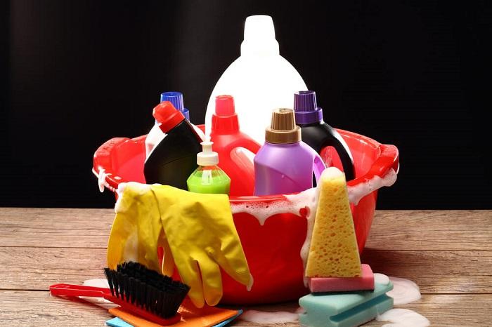 Средства бытовой химии могут взорваться после замерзания. / Фото: forumdaily.com