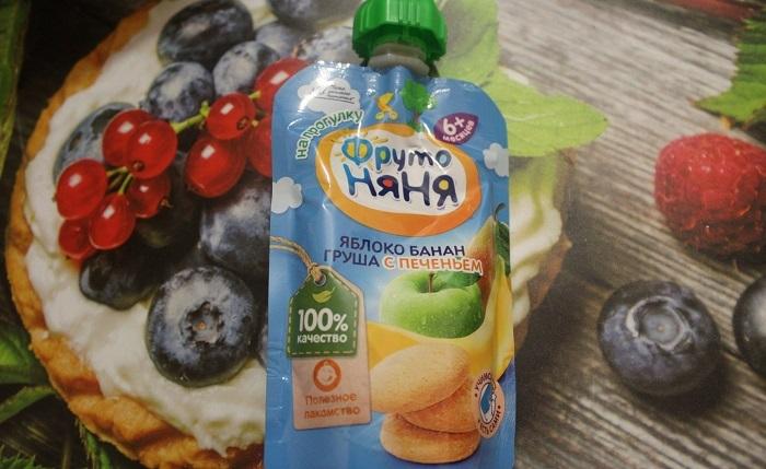 В яблочных пюре минимальное количество основного ингредиента. / Фото: irecommend.ru