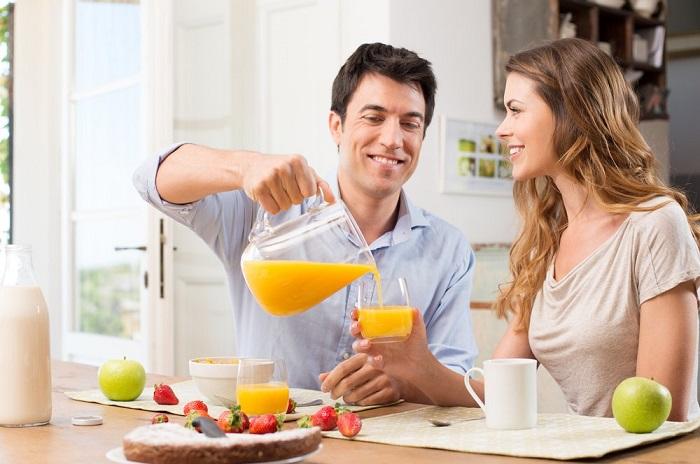 Сока на завтрак недостаточно. / Фото: glamius.ru