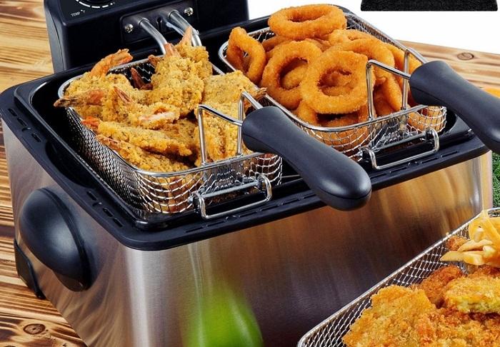 Блюда, приготовленные во фритюре, вредные для здоровья. / Фото: goodsfast.ru