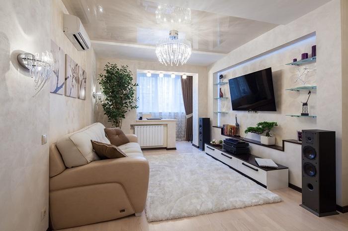 В комнате должно быть только все самое необходимое. / Фото: mykaleidoscope.ru