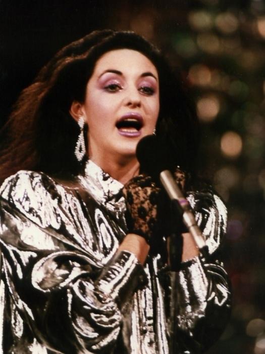 Тамара Гвердцители на «Песне-88». / Фото: promo-live.ru