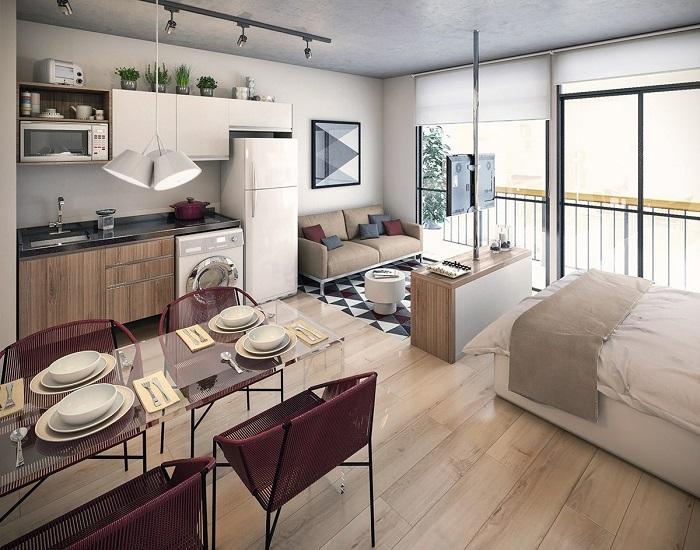 Квартира должна представлять собой единое стилевое пространство с общей идеей. / Фото: gwdesign.com.ua