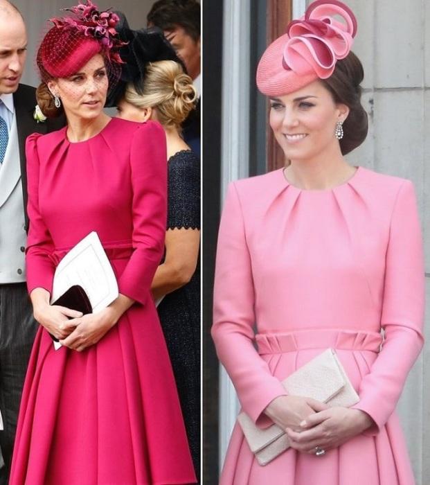 Платья от бренда Alexander McQueen. / Фото: hollywoodlife.com