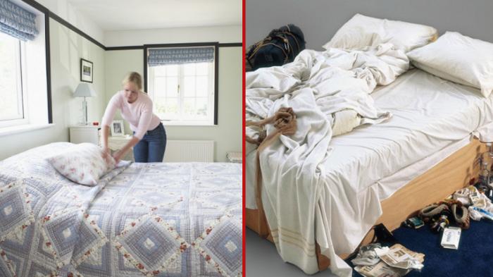 Заправляйте кровать после пробуждения, а не оставляйте ее в беспорядке