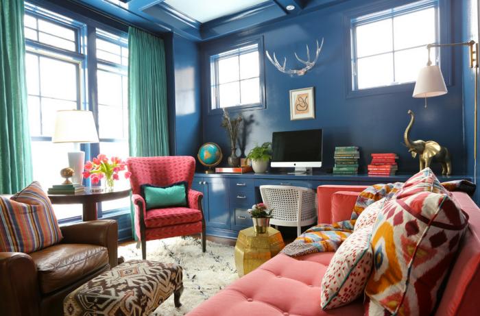 В одной комнате не должно быть много мебели, которая будет препятствовать вашему перемещению. / Фото: idoom.ru