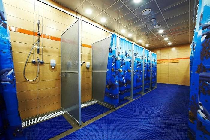 После выполнения всех упражнений обязательно нужно сходить в душ. / Фото: inex.su
