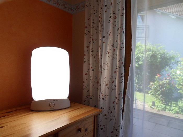 Лампа для светотерапии помогает избавиться от депрессии. / Фото: info-farm.ru