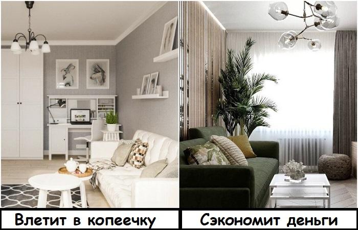 Белая мебель, в отличие от темной, сложная в уходе