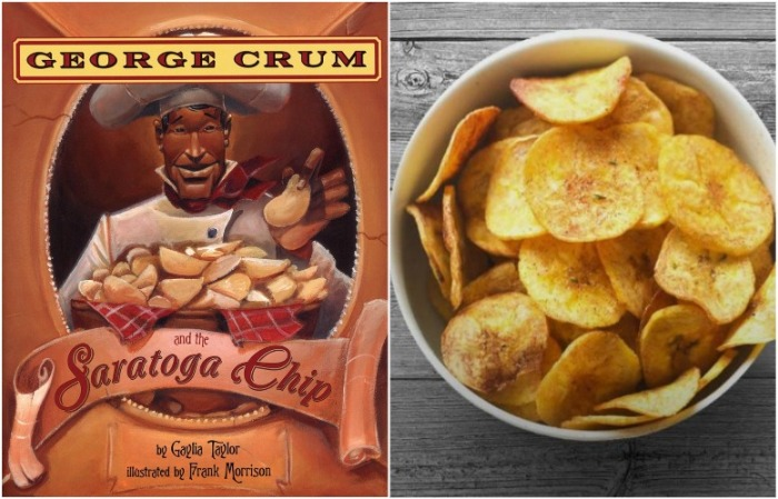 Чипсы придумал повар Джордж Крам