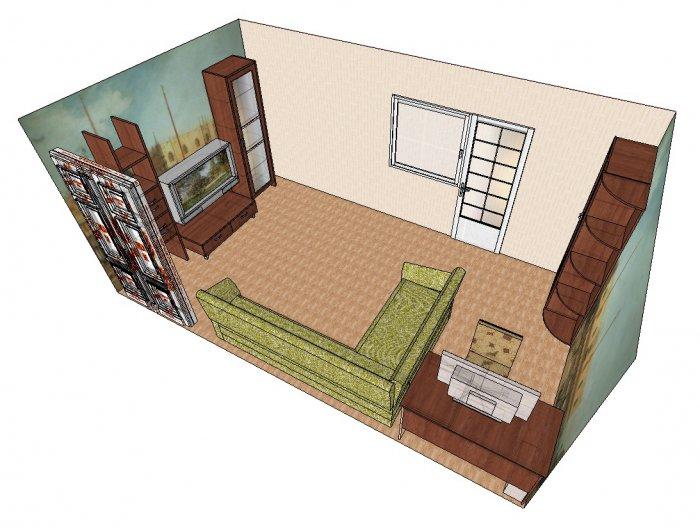 План расстановки мебели можно создать при помощи компьютерной программы. / Фото: interior-design.club