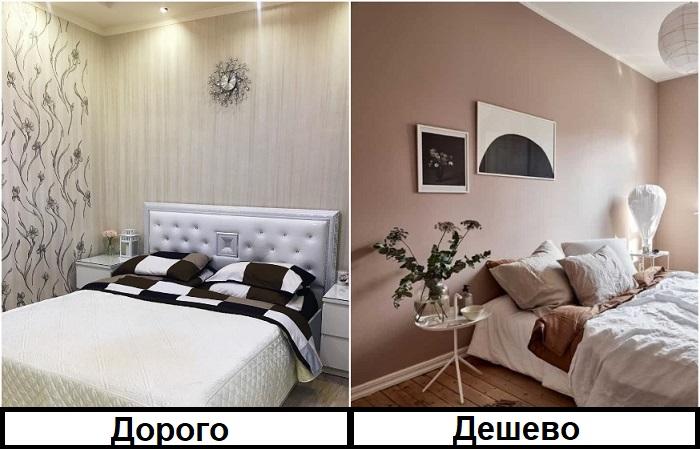 Покрашенные стены более дешевые и практичные, за ними легче ухаживать