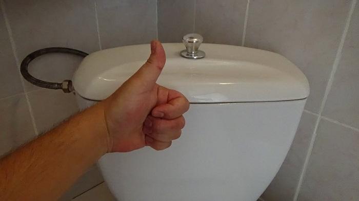 Кнопка слива унитаза часто остается незамеченной. / Фото: eco-kotly.ru