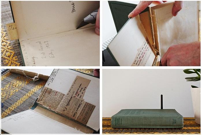 Роутер можно поместить в старую книгу без страниц