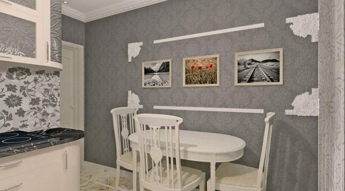 Картины на стенах должны быть уместными. / Фото: houzz.ru