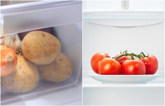 Под влиянием низких температур меняется вкус овощей