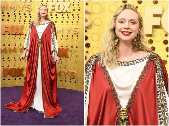 гвендолин Кристи в платье от Gucci. / Фото: kinopoisk.ru