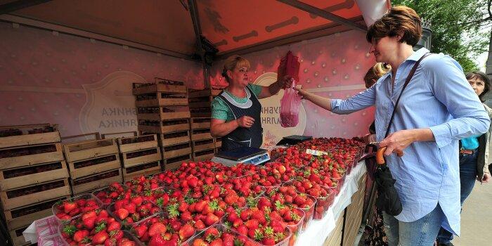 Клубнику лучше покупать летом, когда она вкусная и недорогая. / Фото: progomel.by