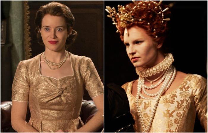 Королевы всегда любили носить жемчуг