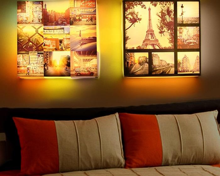 Лайтбокс украсит интерьер и послужит дополнительным источником освещения. / Фото: kp.ru