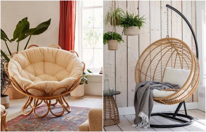 Оригинальные кресла идеально дополнят квартиру, в которой живет один человек