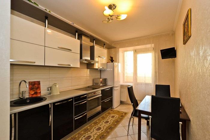 Квартира, которая сдается посуточно, не нуждается в полноценной плите. / Фото: arendaservice.ru