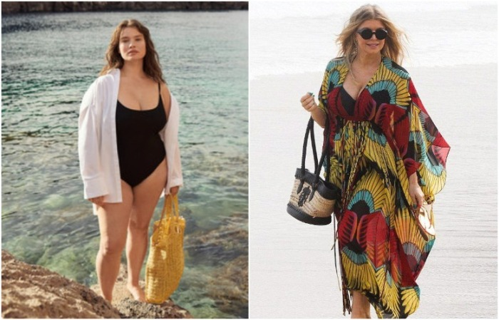 Можно надеть специальное пляжное платье, а можно - обычную рубашку