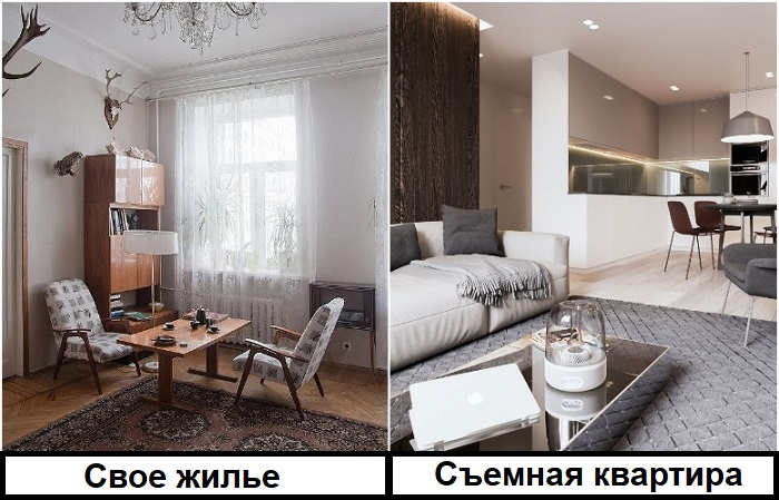 Лучше жить на съемной квартире с хорошими условиями, чем в хрущевке, зато своей