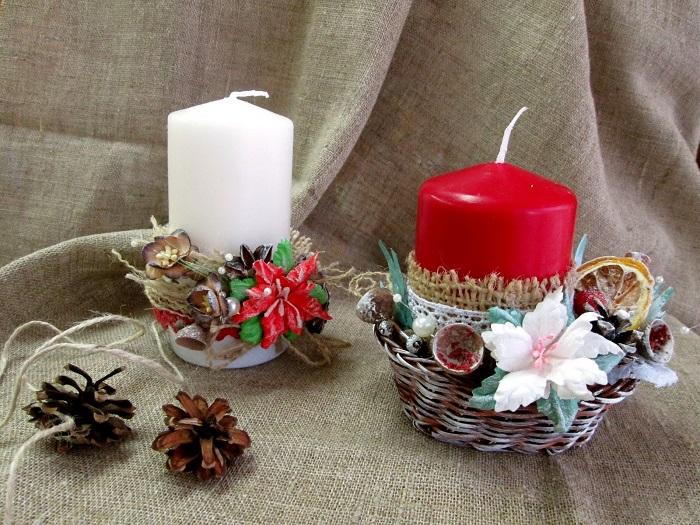 Декоративные свеч выполняют скорее эстетическую, чем практическую функцию. / Фото: landshaftportal.ru