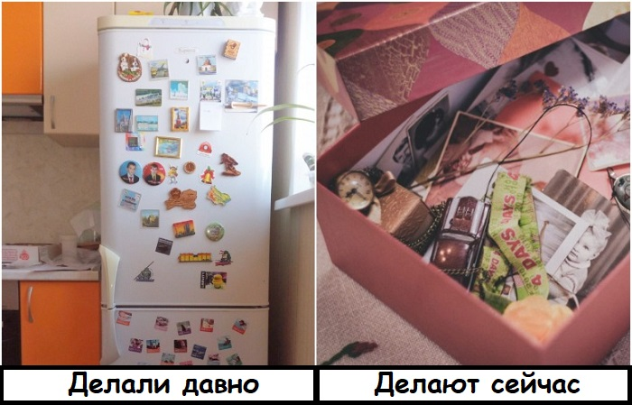 Магнитикам место не на холодильнике, а в коробке воспоминаний