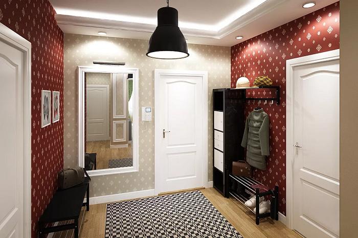 Одинаковые двери создают целостную композицию. / Фото: mainavi.ru