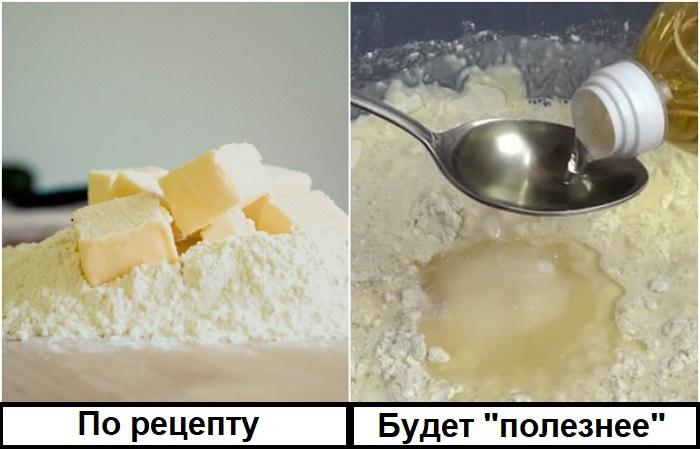 Растительное масло не сделает десерт полезнее