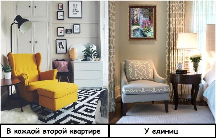 Знаменитое кресло Страндмон лучше заменить на менее известное