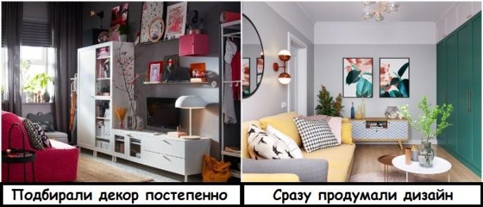 Декор для интерьера нужно подбирать очень внимательно, чтобы все сочеталось