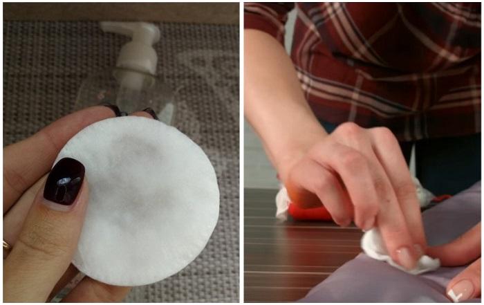 В паре с мицеллярной водой стоит использовать ватный диск