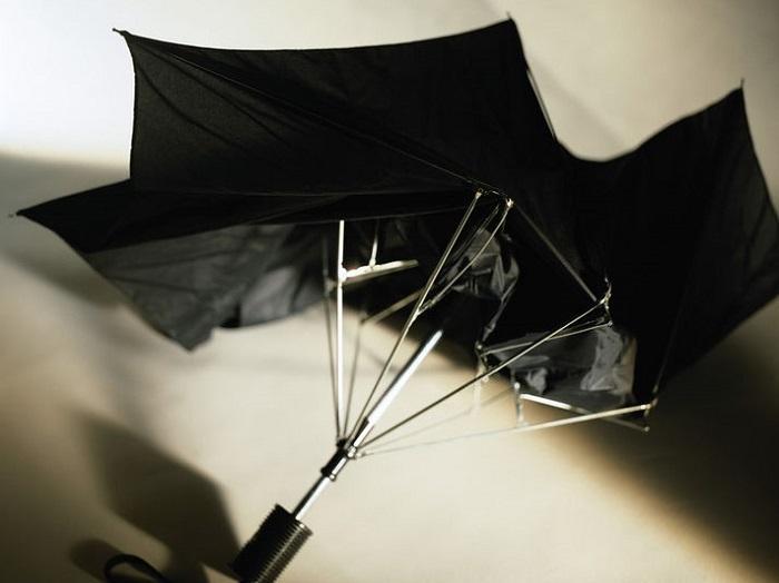Сломанный зонт вряд ли кто-то починит, поэтому не храните его дома. / Фото: milaruk.ru
