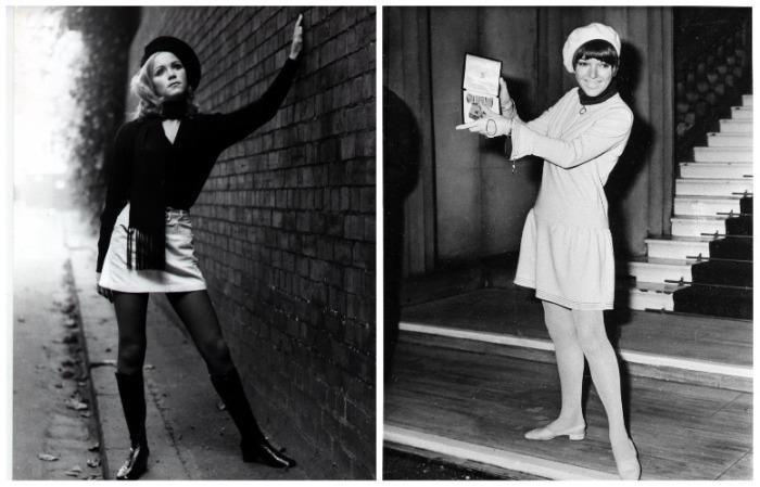 Создательницей мини-юбки была Мэри Куант