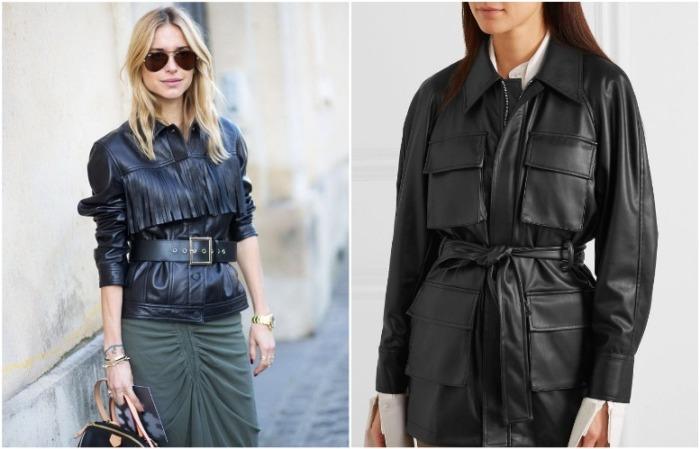 Куртка может быть лаконичной или с декором
