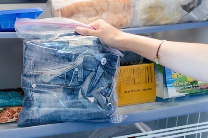 Компания Levi's предложила вместо стирки замораживать джинсы. / Фото: mopera66.ru